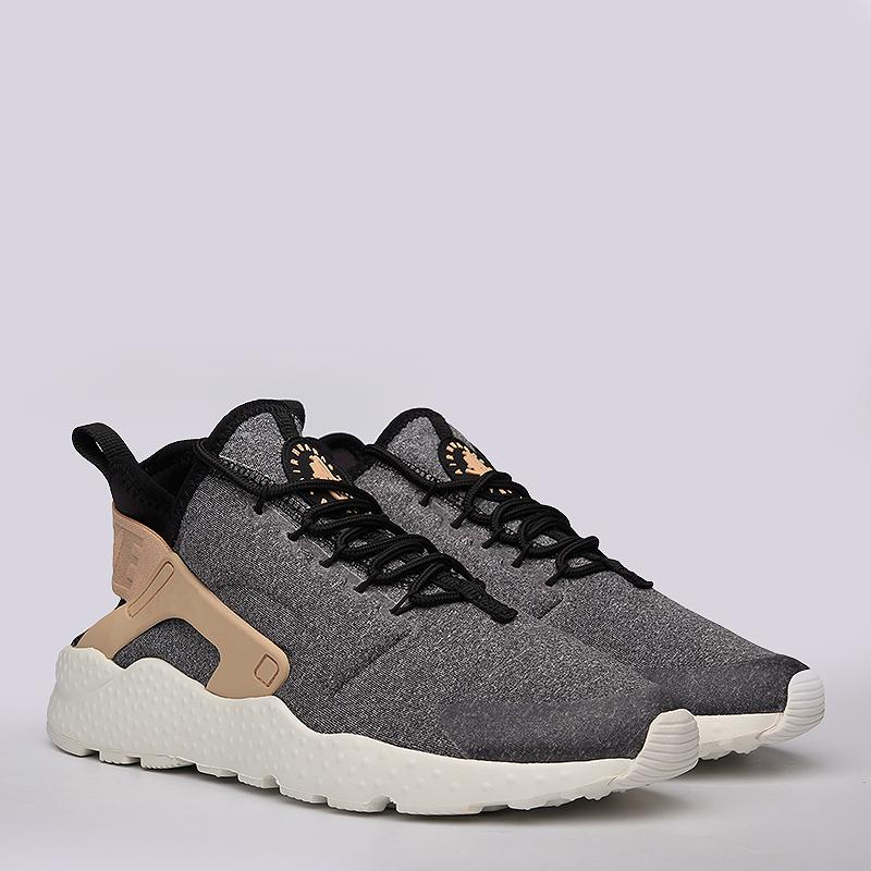 04c1ee95 женские серые кроссовки nike w air huarache run ultra se 859516-001 - цена,