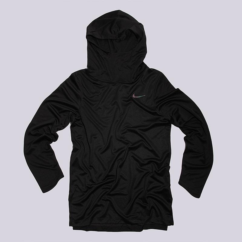 Толстовка Nike Sportswear Elite LS HoodieТолстовки свитера<br>100% полиэстер<br><br>Цвет: Черный<br>Размеры US: M<br>Пол: Мужской