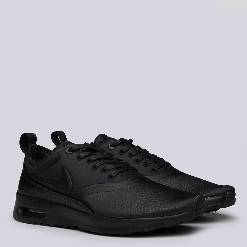 Кроссовки Nike Sportswear WMNS Air Max Thea Ultra PRMКроссовки lifestyle<br>Текстиль, синтетика, резина<br><br>Цвет: Черный<br>Размеры US: 6;6.5;7<br>Пол: Женский