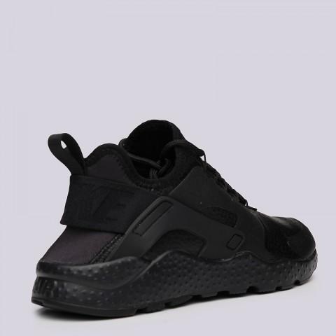 женские черные  кроссовки nike wmns air huarache run ultra prm 859511-002 - цена, описание, фото 3