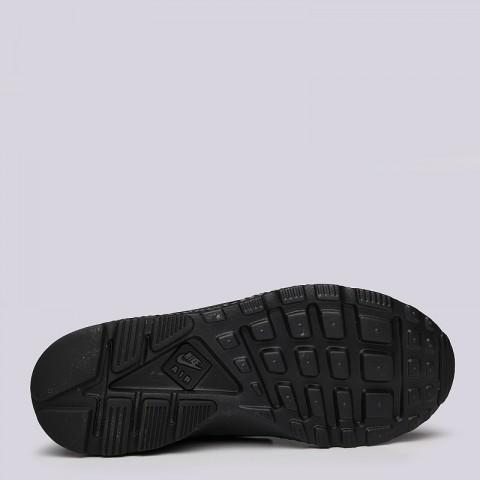 женские черные  кроссовки nike wmns air huarache run ultra prm 859511-002 - цена, описание, фото 4