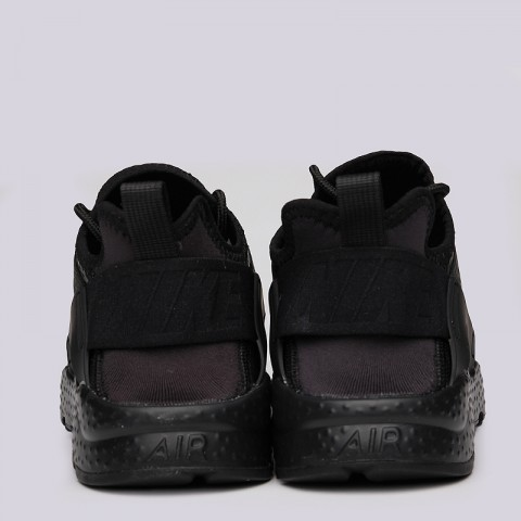 женские черные  кроссовки nike wmns air huarache run ultra prm 859511-002 - цена, описание, фото 6