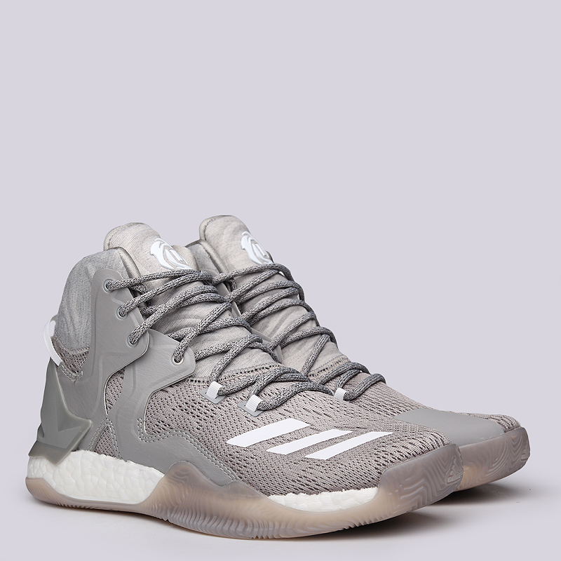 Кроссовки adidas D Rose 7Кроссовки баскетбольные<br>Текстиль, резина<br><br>Цвет: Бежевый<br>Размеры UK: 7.5;8;8.5;9<br>Пол: Мужской