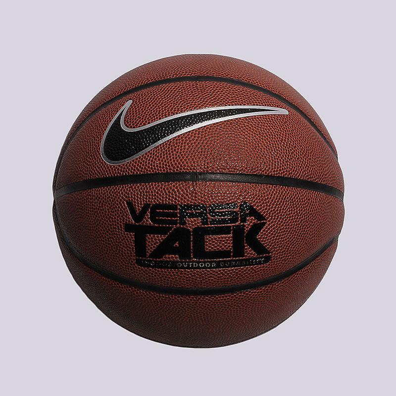 Мяч NikeМячи<br>синтетическая кожа, резина.<br><br>Цвет: коричневый.<br>Размеры US: 5