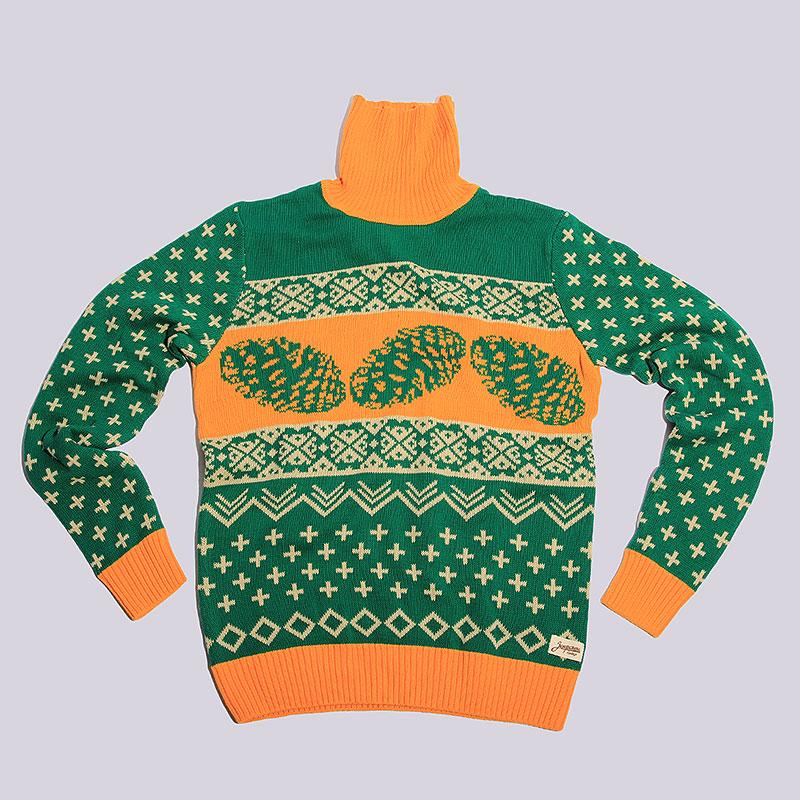 Свитер Запорожец heritage ConeТолстовки свитера<br>хлопок.<br><br>Цвет: Зелёный<br>Размеры : XS;S;L<br>Пол: Мужской