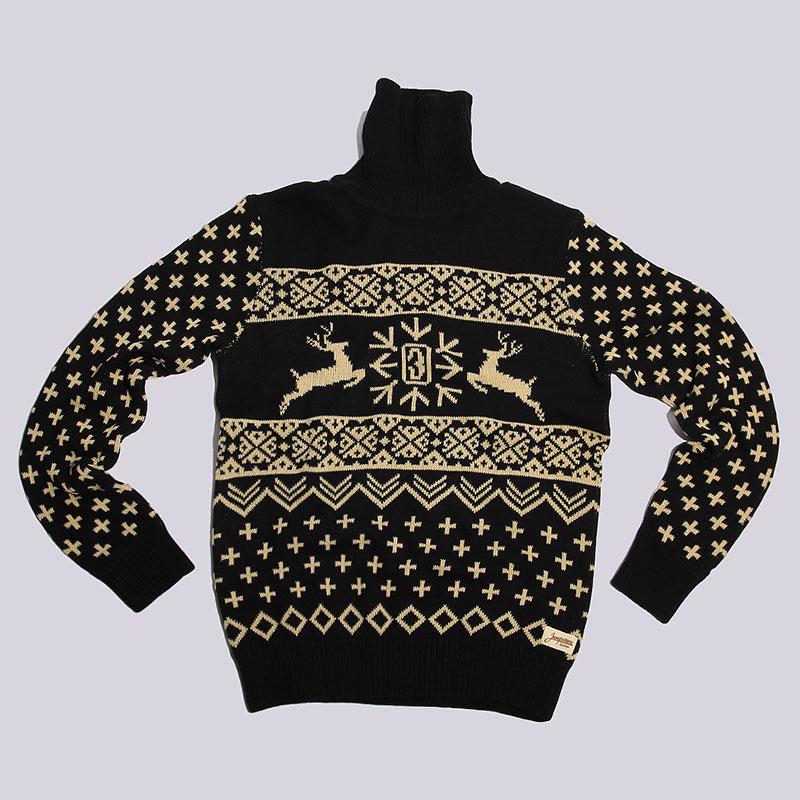 Свитер Запорожец heritage DeerТолстовки свитера<br>хлопок.<br><br>Цвет: Чёрный<br>Размеры : S;L<br>Пол: Мужской