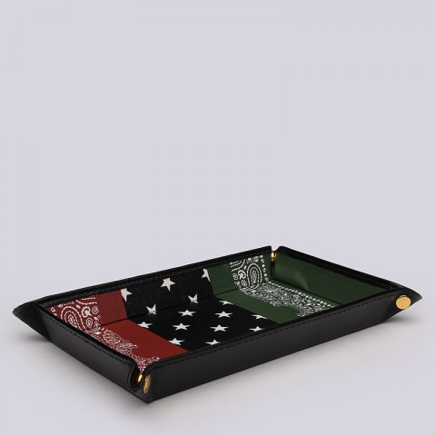 Bandana Accessory Tray Black Scale