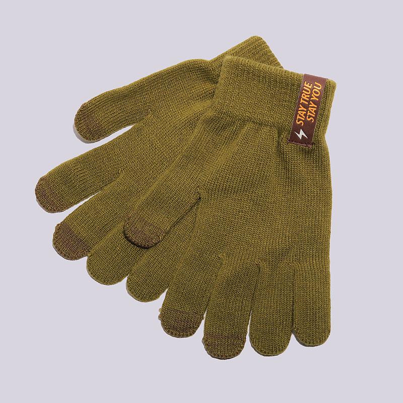 Перчатки True spin TouchПерчатки<br>100% акрил<br><br>Цвет: Зелёный<br>Размеры : OS