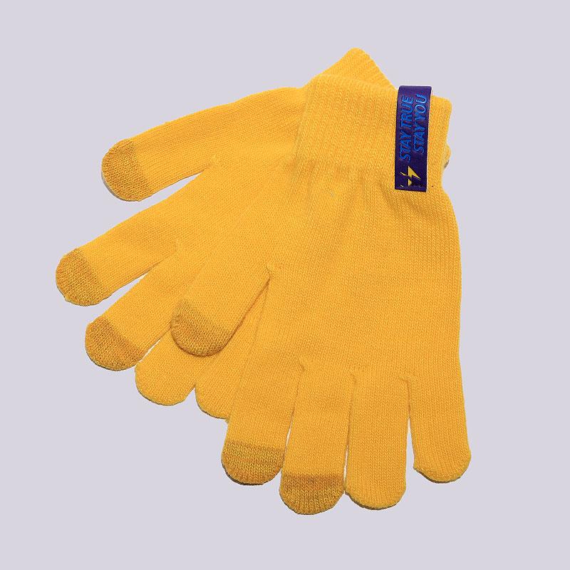 Перчатки True spin TouchПерчатки<br>100% акрил<br><br>Цвет: Желтый<br>Размеры : OS