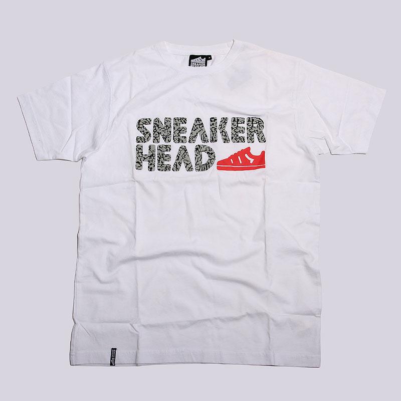 Футболка Sneakerhead Logo Elefant PrintФутболки<br>Хлопок<br><br>Цвет: Белый<br>Размеры : S;M;L;XL;2XL<br>Пол: Мужской