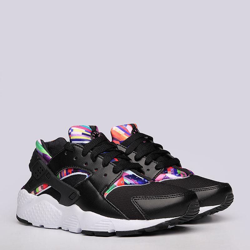Кроссовки Nike sportswear Huarache Run PrintКроссовки lifestyle<br>Текстиль, резина<br><br>Цвет: Черный<br>Размеры US: 3.5Y;4Y;4.5Y;5Y;5.5Y;6Y<br>Пол: Детский