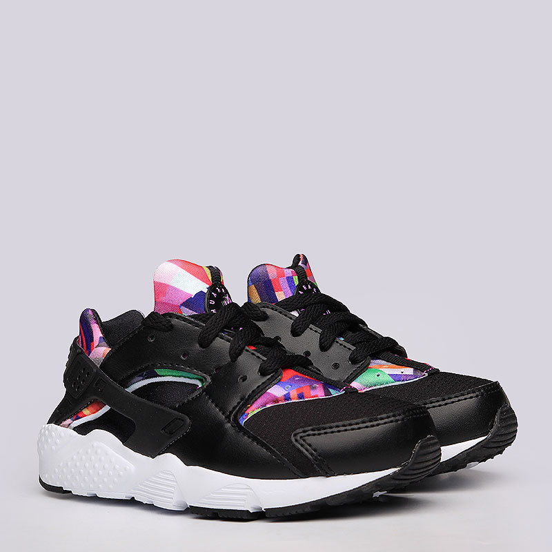 Кроссовки Nike Sportswear Huarache Run Print PSКроссовки lifestyle<br>Текстиль, резина<br><br>Цвет: Черный<br>Размеры US: 1.5Y;11.5C;11C;12.5C;12C;13.5C;13C;1Y;2.5Y;3Y<br>Пол: Детский