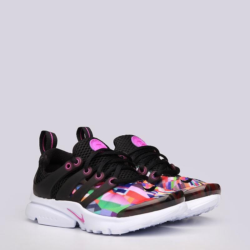 Кроссовки Nike sportswear Presto PrintКроссовки lifestyle<br>Текстиль, резина, пластик<br><br>Цвет: Черный<br>Размеры US: 11C;12C;13C;1Y;2Y;3Y<br>Пол: Детский