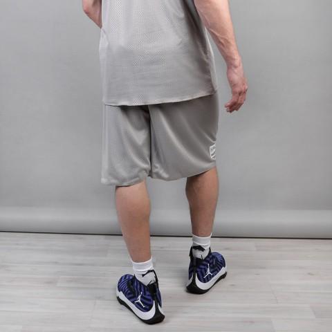 мужские серые, голубые  шорты hard hrd shorts Hard grey/blue-074 - цена, описание, фото 3