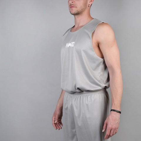 мужскую серую, голубую  майку hard sleeveless hard Hard grey/blue-0749 - цена, описание, фото 2