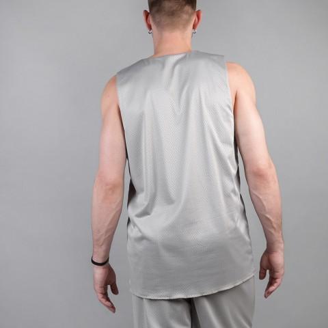 мужскую серую, голубую  майку hard sleeveless hard Hard grey/blue-0749 - цена, описание, фото 3