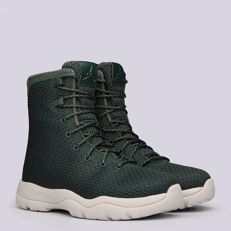 Ботинки Jordan Future BootБотинки<br>текстиль,резина<br><br>Цвет: Зеленый<br>Размеры US: 8;8.5;9;9.5;10;10.5;11;12;12.5;13<br>Пол: Мужской