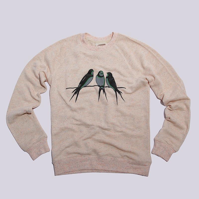 Толстовка Запорожец heritage ЛасточкиТолстовки свитера<br>Хлопок<br><br>Цвет: Розовый<br>Размеры : XS<br>Пол: Женский
