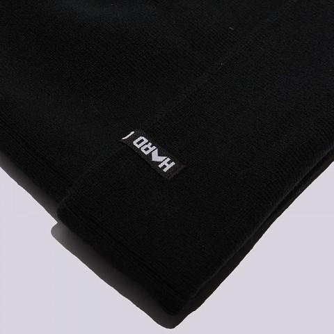 черную, белую  шапка hard hrd beanie hard blk/wht-0102 - цена, описание, фото 3