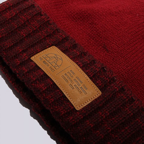 красную  шапка the north face around town beanie T92T6L619 - цена, описание, фото 2