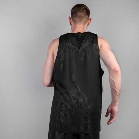 мужскую белую, черную  двухсторонняя майка hard sleeveless hard Hard blk/white-001 - цена, описание, фото 3