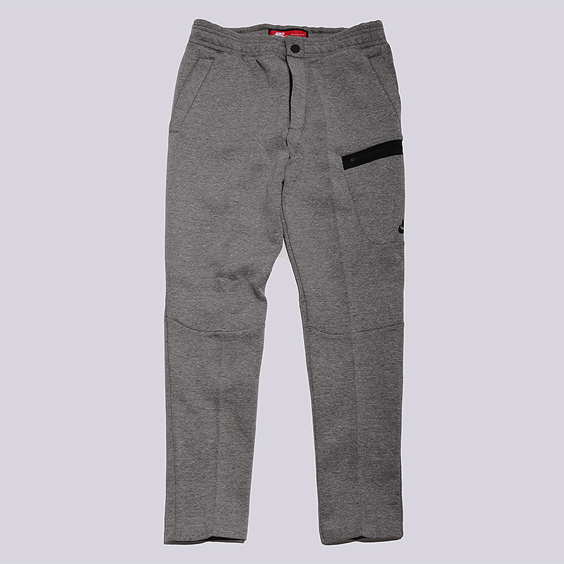 Брюки Nike Sportswear M NSW TCH FLC PantБрюки и джинсы<br>66% хлопок, 34% полиэстер<br><br>Цвет: Серый<br>Размеры US: XL<br>Пол: Мужской