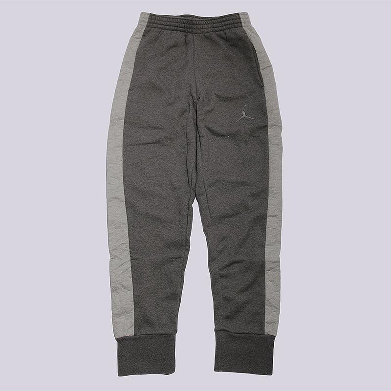 Брюки Jordan AJ 3 Fleece PantБрюки и джинсы<br>80% хлопок, 20% полиэстер<br><br>Цвет: Серый<br>Размеры US: S;M;L;XL<br>Пол: Мужской