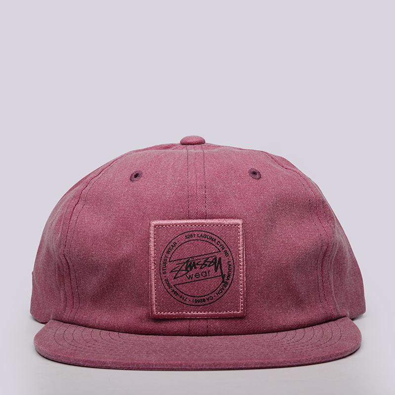Кепка Stussy Washed Twill Strapback CapКепки<br>100% хлопок<br><br>Цвет: Розовый<br>Размеры US: OS