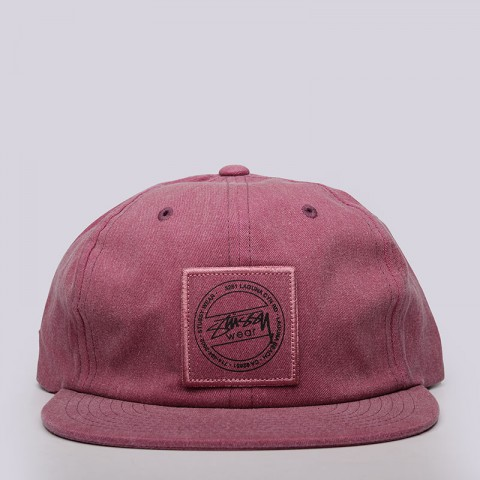 Кепка Stussy Washed Twill Strapback Cap