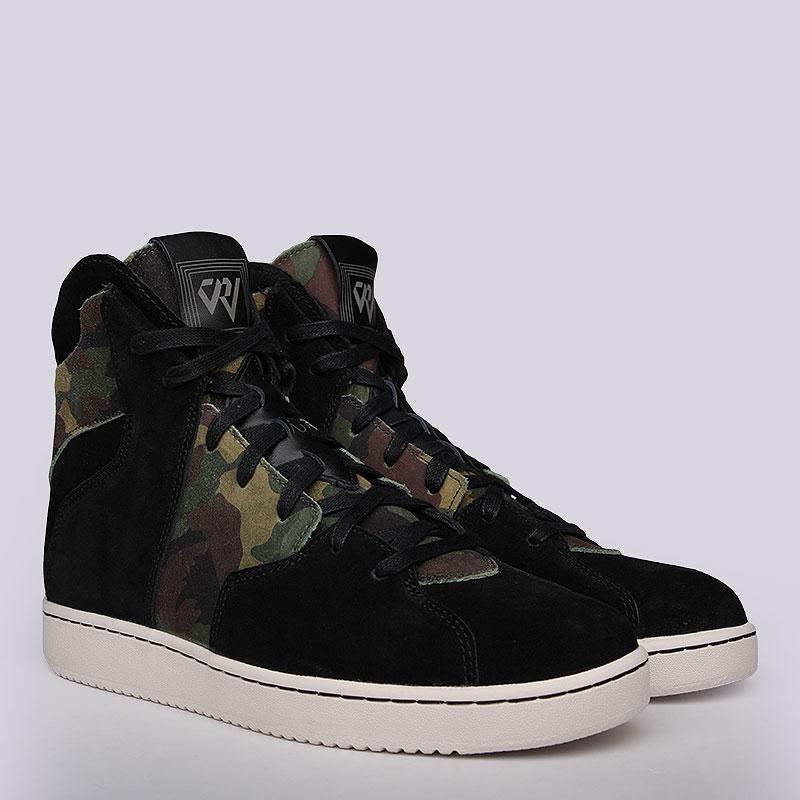 Кроссовки Jordan Westbrook 0.2Кроссовки lifestyle<br>Текстиль, кожа, резина<br><br>Цвет: Черный, зелёный<br>Размеры US: 12<br>Пол: Мужской