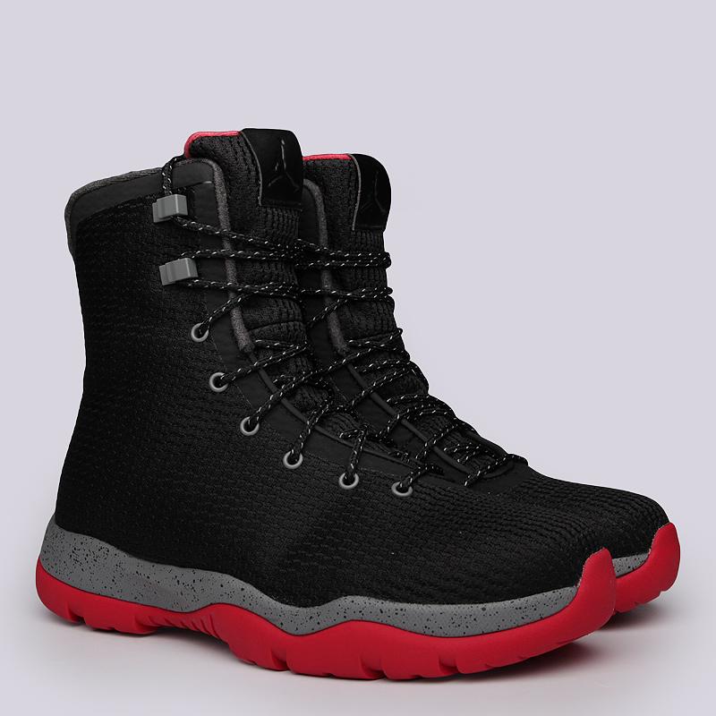 Ботинки Jordan Future BootБотинки<br>Текстиль, резина<br><br>Цвет: Черный<br>Размеры US: 8;8.5;9<br>Пол: Мужской
