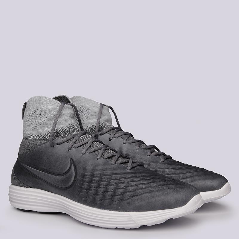Кроссовки Nike Sportswear Lunar Magista II FKКроссовки lifestyle<br>Текстиль, резина<br><br>Цвет: Серый<br>Размеры US: 8;8.5;9;9.5;10;10.5;11;11.5;12<br>Пол: Женский
