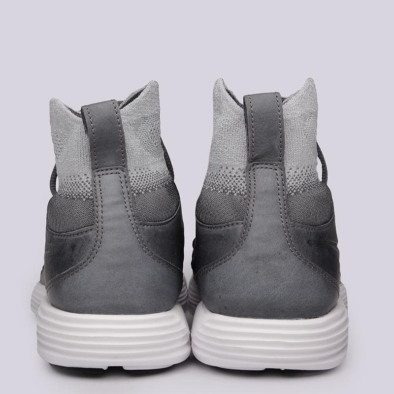 мужские серые  кроссовки nike lunar magista ii fk 852614-002 - цена, описание, фото 6