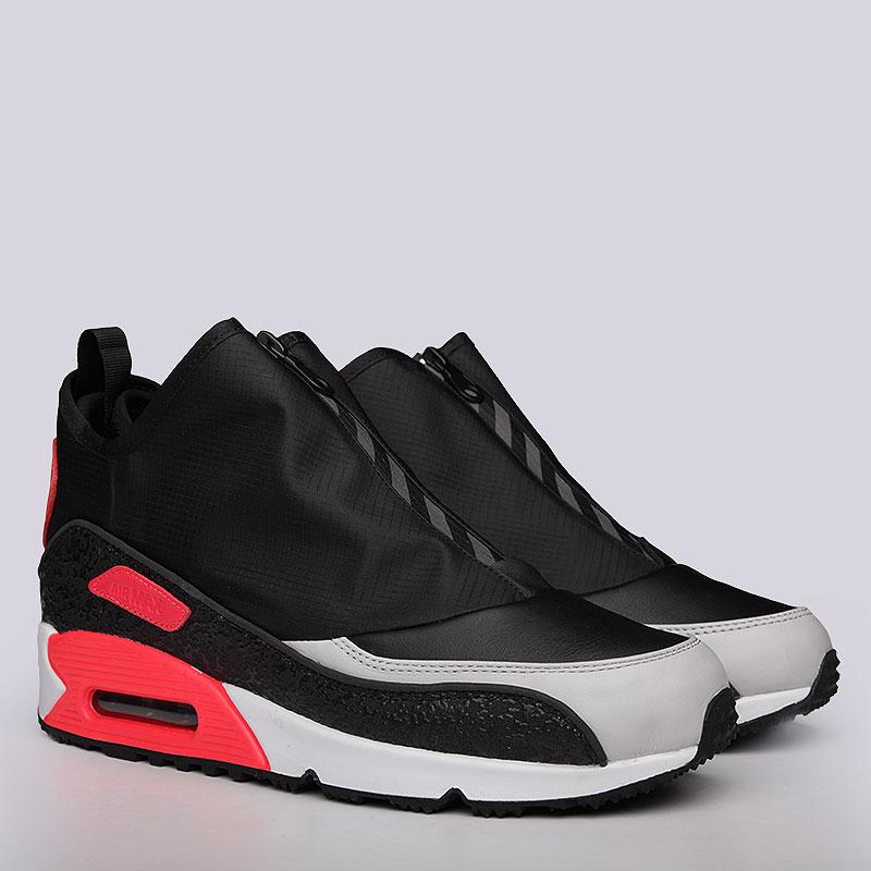 Кроссовки Nike sportswear Air Max 90 UtilityКроссовки lifestyle<br>Кожа, текстиль, резина<br><br>Цвет: Черный, серый<br>Размеры US: 8;8.5;9;9.5;10;10.5;11;11.5;12<br>Пол: Мужской