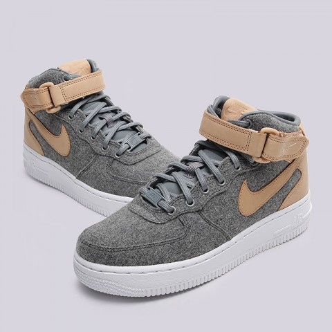 WMNS Air Force 1'07 Mid LTHR PRM Nike sportswear