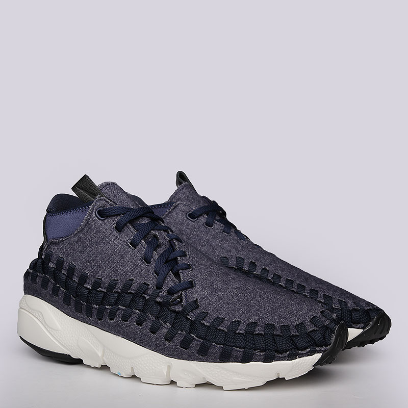 Кроссовки Nike Sportswear Footscape Woven Chukka SEКроссовки lifestyle<br>Кожа, текстиль, резина<br><br>Цвет: Синий<br>Размеры US: 8;8.5<br>Пол: Мужской
