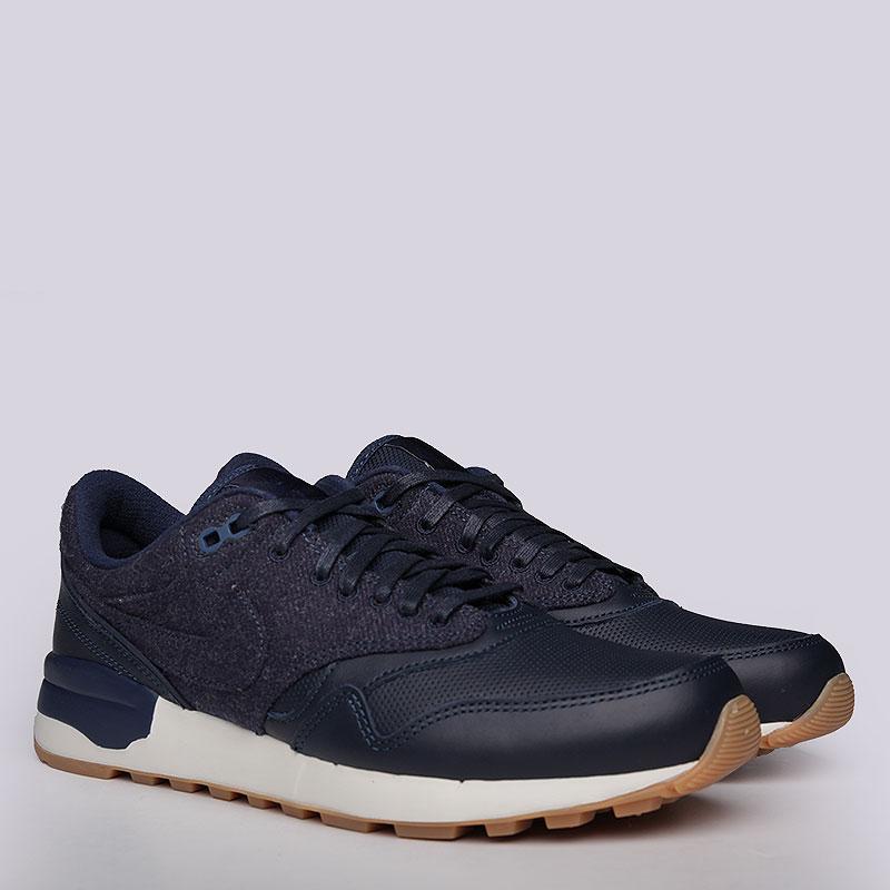 Кроссовки Nike Sportswear Air Odyssey LXКроссовки lifestyle<br>Кожа, текстиль, резина<br><br>Цвет: Синий<br>Размеры US: 12.5<br>Пол: Мужской