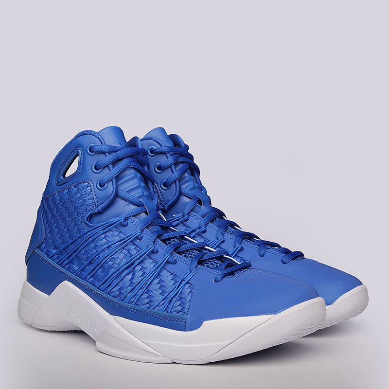 Кроссовки Nike Hyperdunk LuxКроссовки баскетбольные<br>Текстиль, пластик, резина<br><br>Цвет: Синий<br>Размеры US: 8;8.5;9;9.5;10;10.5;11<br>Пол: Мужской