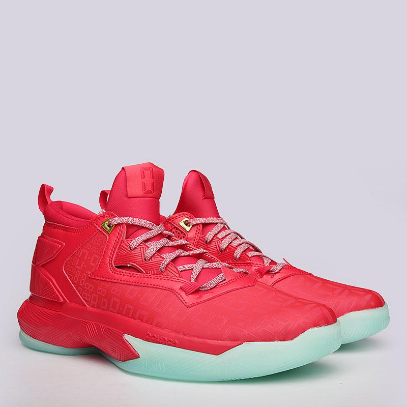 Кроссовки adidas D Lillard 2Кроссовки баскетбольные<br>Кожа, синтетика, текстиль, резина<br><br>Цвет: Красный<br>Размеры UK: 8.5<br>Пол: Мужской