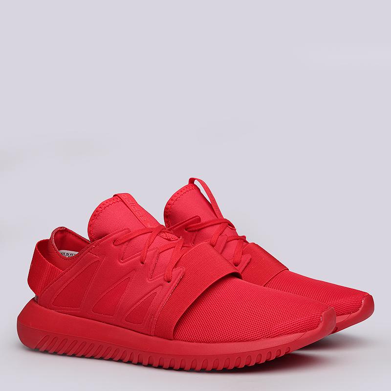 Кроссовки  adidas Originals Tubular Viral WКроссовки lifestyle<br>Текстиль, резина<br><br>Цвет: Красный<br>Размеры UK: 6.5;7;8<br>Пол: Женский