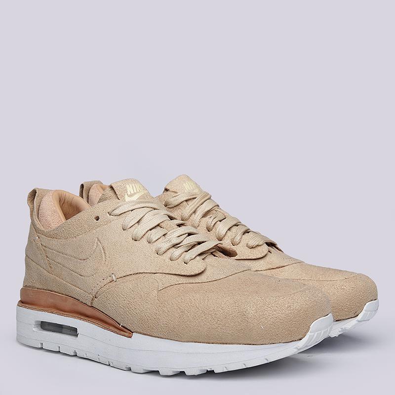 Кроссовки Nike WMNS Air Max 1 RoyalКроссовки lifestyle<br>кожа, текстиль, резина<br><br>Цвет: Коричневый<br>Размеры US: 6;6.5;7<br>Пол: Женский