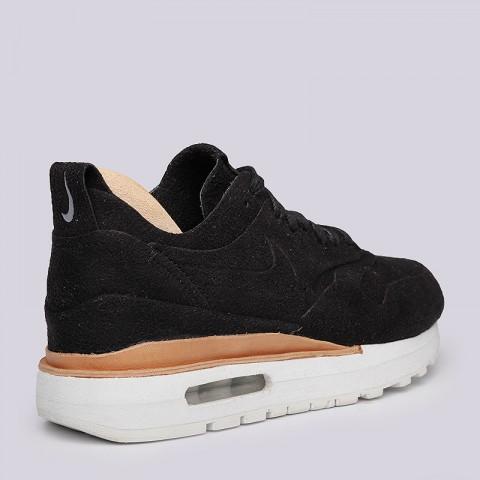 женские черные  кроссовки nike wmns air max 1 royal 847672-001 - цена, описание, фото 3