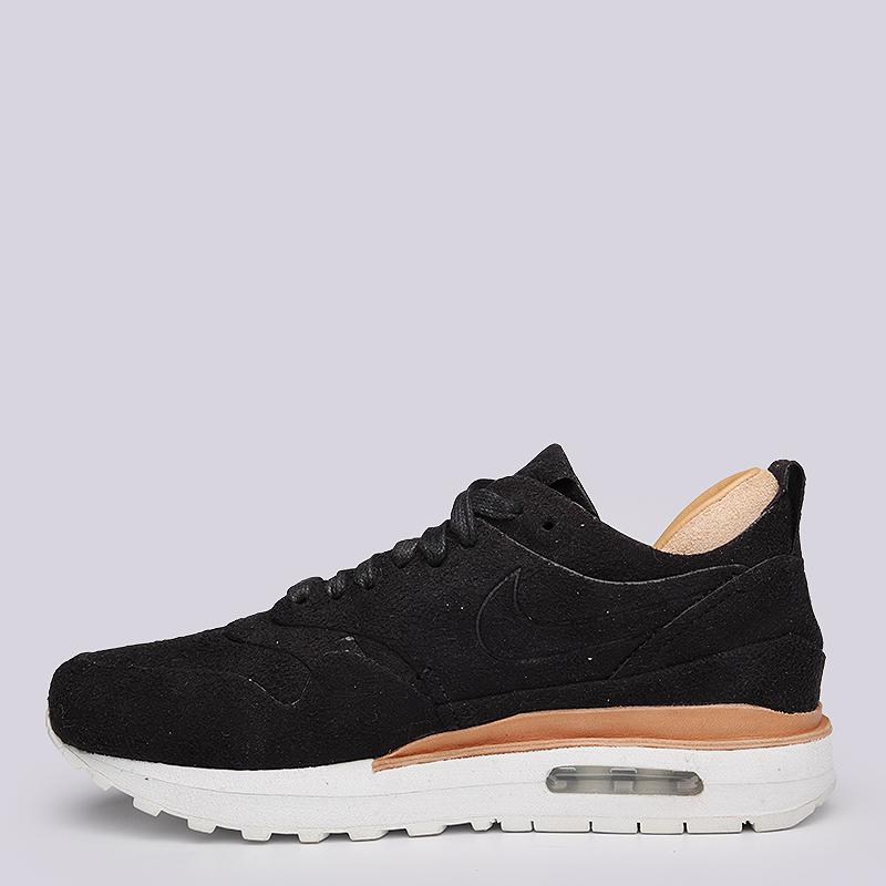 женские черные  кроссовки nike wmns air max 1 royal 847672-001 - цена, описание, фото 5
