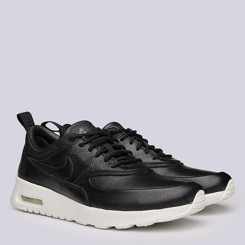 Кроссовки Nike WMNS Air Max Thea PinnacleКроссовки lifestyle<br>кожа, текстиль, резина<br><br>Цвет: Черный<br>Размеры US: 6<br>Пол: Женский
