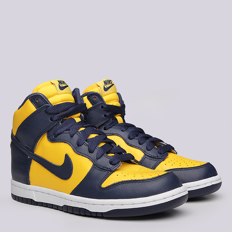 Кроссовки  Nike Sportswear WMNS Dunk Retro QSКроссовки lifestyle<br>кожа,  текстиль, резина<br><br>Цвет: Желтый<br>Размеры US: 6.5;8;8.5<br>Пол: Женский