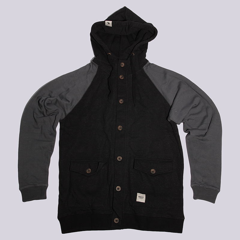 Толстовка Wemoto HunterТолстовки свитера<br>Хлопок<br><br>Цвет: Серый<br>Размеры US: XL<br>Пол: Мужской