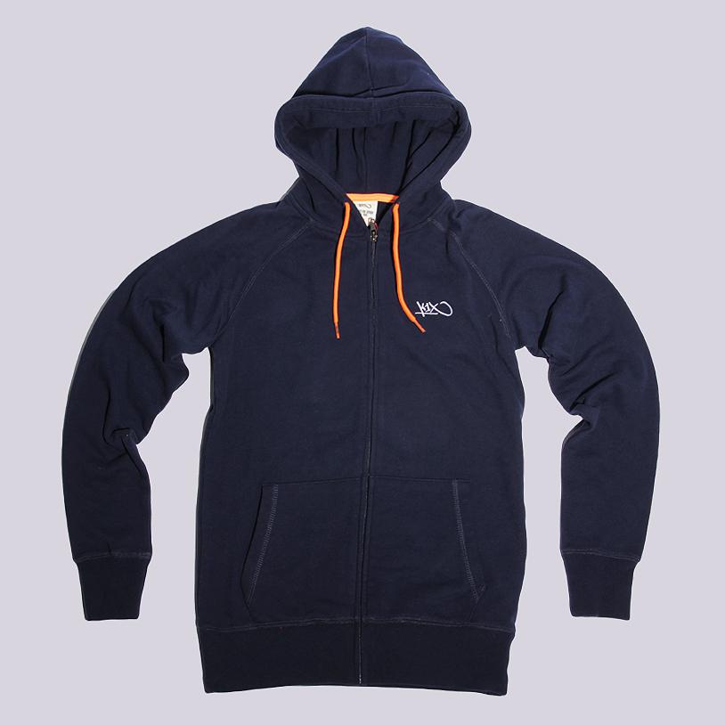 Толстовка K1x wmns Tag Zipper HoodyТолстовки свитера<br>60% хлопок, 40% полиэстер<br><br>Цвет: Синий<br>Размеры US: XS<br>Пол: Женский