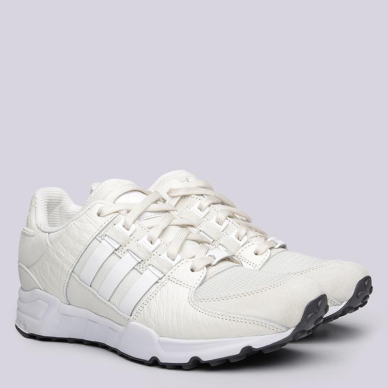 мужские белые кроссовки adidas equipment running support S32146 - цена,  описание, фото 1 23018251a52