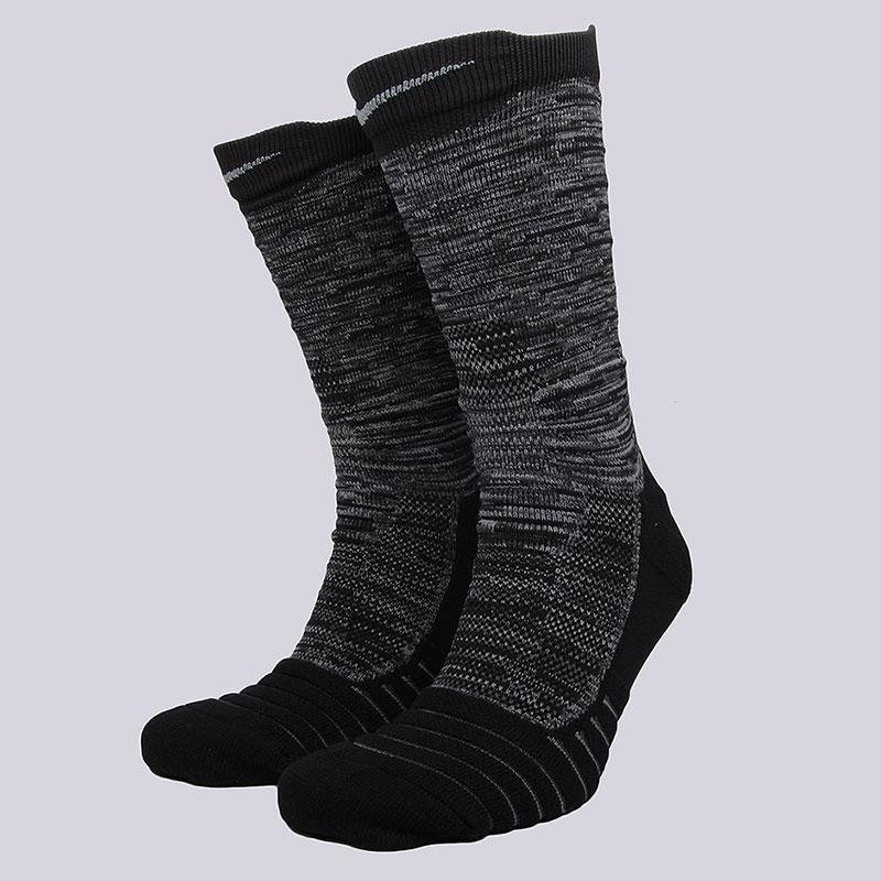 Носки Nike Sportswear NK ELT Versa CrewНоски<br>58% нейлон, 29% полиэстер, 9% хлопок, 4%&amp;nbsp;эластан<br><br>Цвет: Черный, серый<br>Размеры US: M;L;XL<br>Пол: Мужской