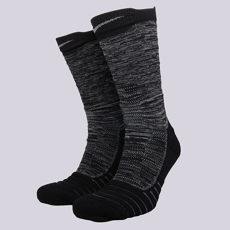 Носки Nike NK ELT Versa CrewНоски<br>58% нейлон, 29% полиэстер, 9% хлопок, 4%&amp;nbsp;эластан<br><br>Цвет: Черный, серый<br>Размеры US: M;XL<br>Пол: Мужской